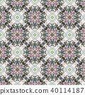Vintage abstract seamless pattern, textile design 40114187