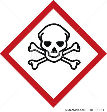 warning sign construction site - caution symbol 40115231