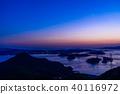 晚景 海洋 海 40116972