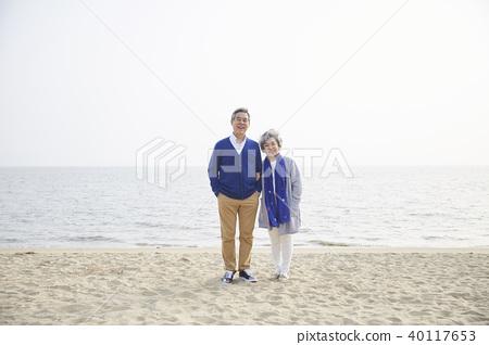 생활,노부부,남편,아내,함께함 40117653
