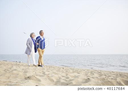 생활,노부부,남편,아내,함께함 40117684