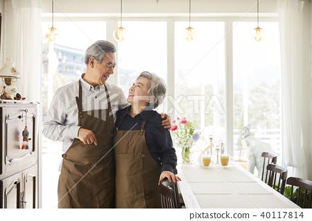 叟 老年人 微笑 40117814