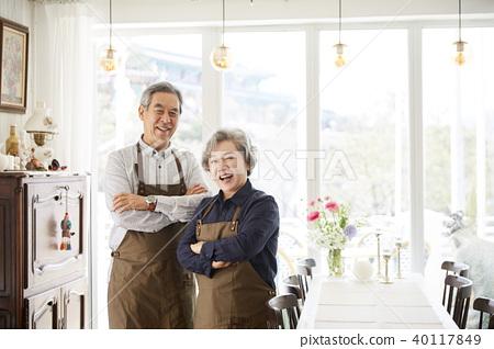 生活,老夫妻,丈夫,妻子,在一起 40117849