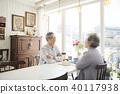 叟 老年人 一對 40117938