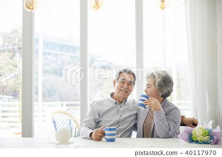 생활,노부부,남편,아내,함께함 40117970