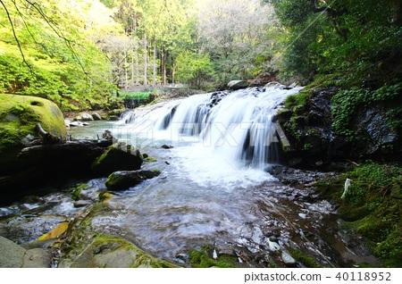 Smooth waterfall 40118952