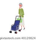 老人 年老 老年人 40120624