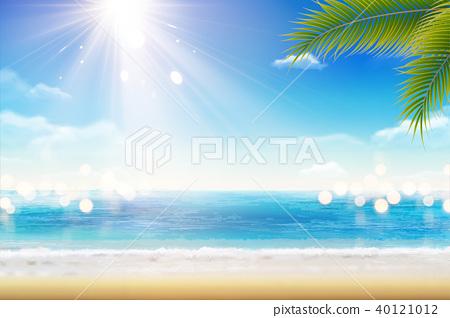Summer resort scenery 40121012