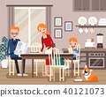 Lovely family characters 40121073
