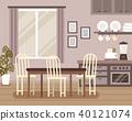 Lovely interior scene 40121074