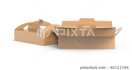 Kraft box with handle 40121394
