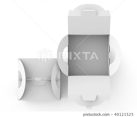 White box with handle 40121525