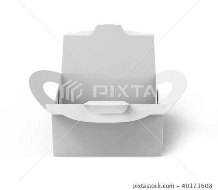 White box with handle 40121608