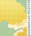 일본 - 배경 - 금 - 그린 40123140