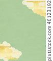 일본 - 배경 - 금 - 그린 40123192