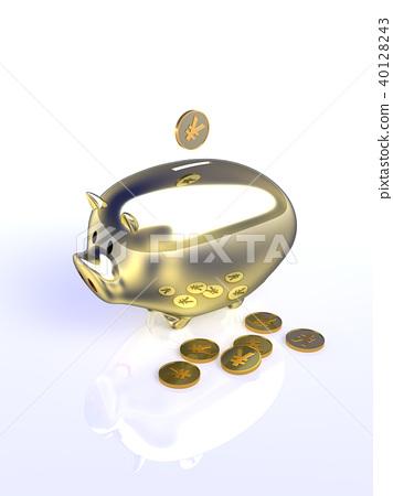 CG Pig Piggy Bank Yen 40128243