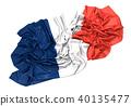 法国国旗 40135477