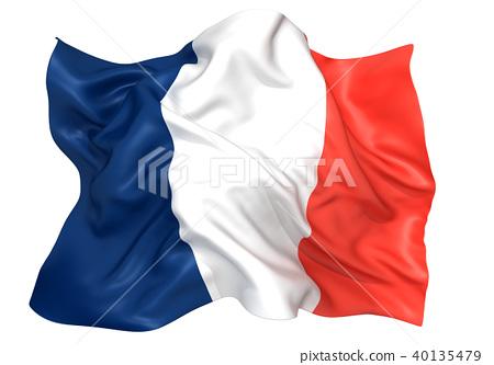 法国国旗 40135479