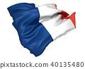 法国国旗 40135480