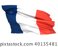 法国国旗 40135481