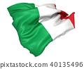 意大利國旗 40135496