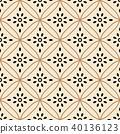 Seamless background southeast Asian aboriginal 40136123