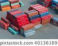 항구, 항, 컨테이너 40136169