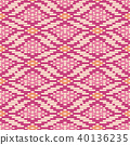 Seamless background southeast Asian aboriginal 40136235