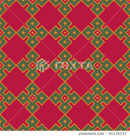 Seamless background southeast Asian aboriginal 40136247