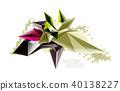 background crystal color 40138227