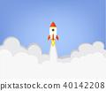 rocket, business, startup 40142208