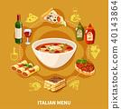 italian, cuisine, set 40143864