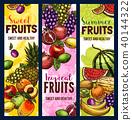 水果 浆果 矢量 40144322