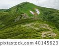 Iideyo main mountain seen from the ridge line to Mt. 40145923