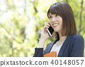 스마트폰, 스마트 폰, 비즈니스우먼 40148057