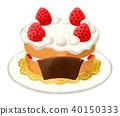 strawberry short, shortcake, cake 40150333