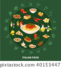italian, lasagne, restaurant 40153447