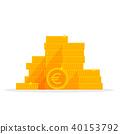 coin, euro, gold 40153792