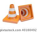 Traffic road cones 40160492