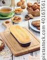 Lemon pound cake 40163561