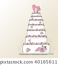 cake, design, illustration 40165611