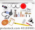 Tools,for, construction, and, renovation, isolated 40169981