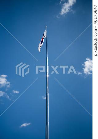 Korean Flag 40170647