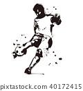 球員 足球運動員 足球 40172415