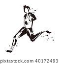 馬拉松賽跑 田徑 田徑賽事 40172493