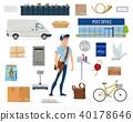 post, postman, service 40178646
