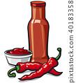 sauce, chilli, chili 40183358