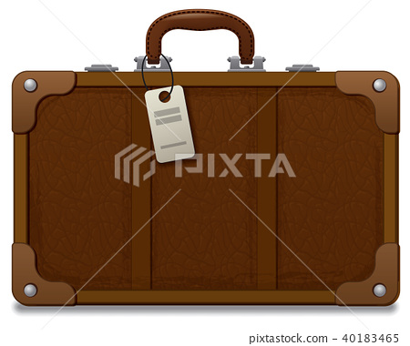 old vintage style suitcase 40183465
