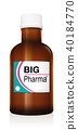 Big Pharma Medicine Bottle Vial 40184770