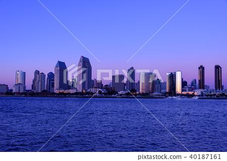 聖地亞哥都市風景 40187161